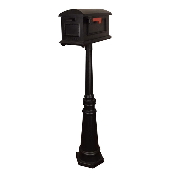Special Lite Traditional Curbside Mailbox with Tacoma Mailbox Post Unit