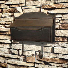 Special Lite Contemporary Horizontal Wall Mount Mailbox; SHC-1002
