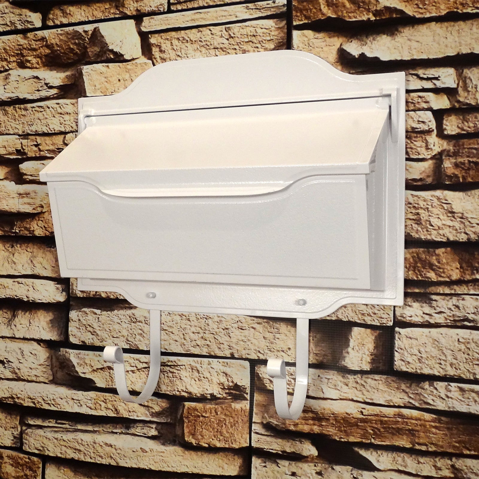 Picture of: Special Lite Contemporary Horizontal Wall Mount Residential Mailbox Prime Mailboxes