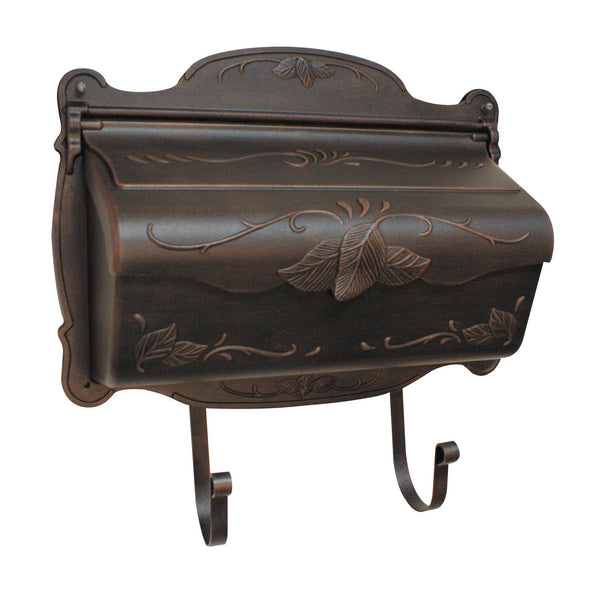 Special Lite Floral Horizontal Mailbox Wall Mount; SHF-1001