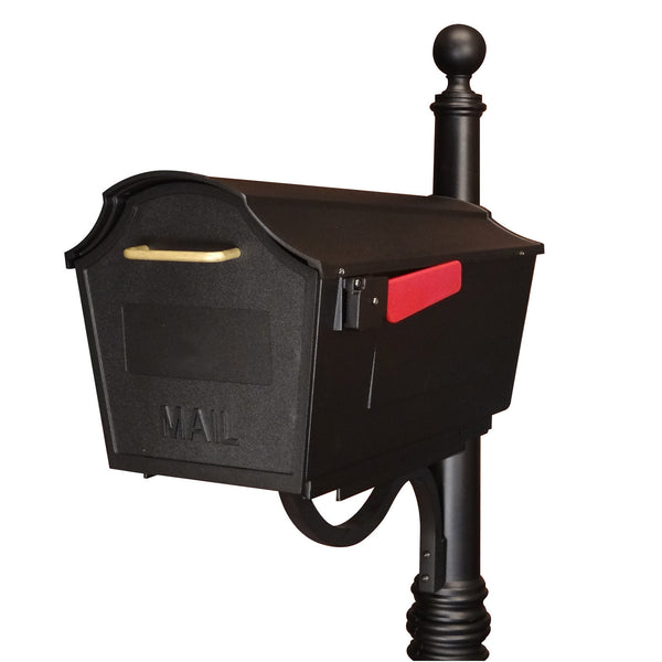 Special Lite Town Square Curbside Post Mount Mailbox Stb