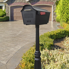 Special Lite Town Square Curbside Mailbox and Tacoma Mailbox Post Unit; STB-1007_SPK-591