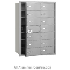 Salsbury Industries 4B+ Commercial Horizontal Mailbox 14 B Door Front Loading Private Access