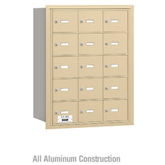 Salsbury Industries 4B+ Commercial Horizontal Mailbox 15  A Door Rear Loading Private Access