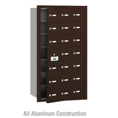 Salsbury Industries Commercial 4B+ Horizontal Mailbox 21 A Door 20 Usable Front Loading USPS Access