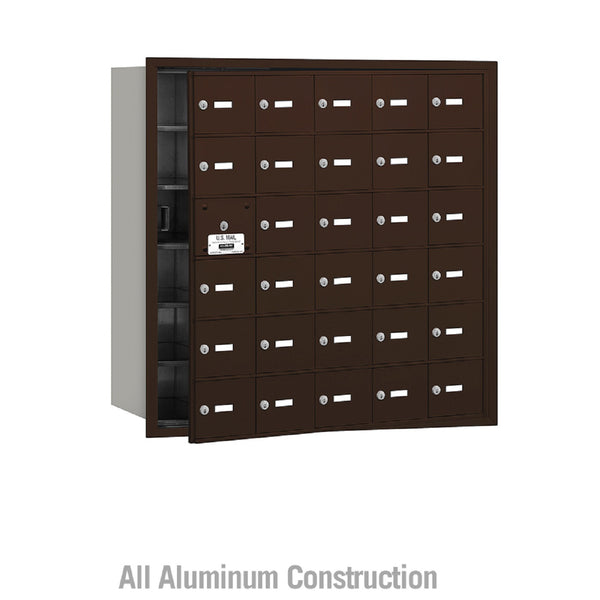 Salsbury Industries Commercial 4B+ Horizontal Mailbox 30 A Door 29 Usable Front Loading USPS Access