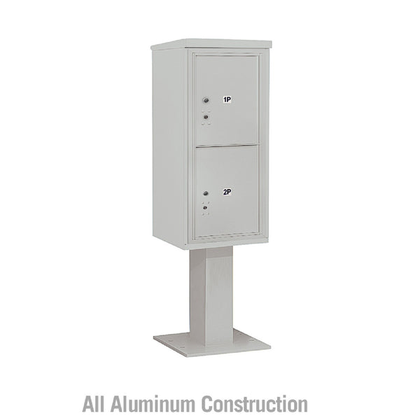 Salsbury Industries 4C+ Horizontal Mailbox Unit 10 Door Single Column Front  Loading Private Access
