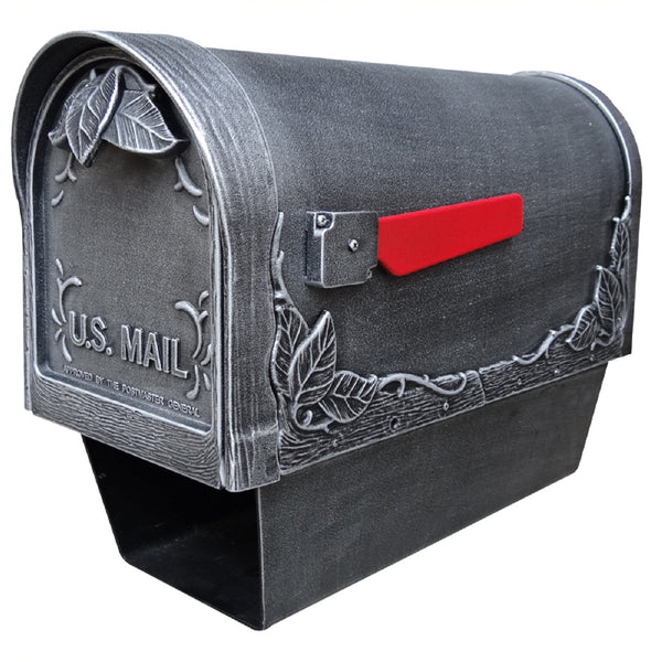 Special Lite Products Floral Curbside Mailbox with Paper Tube