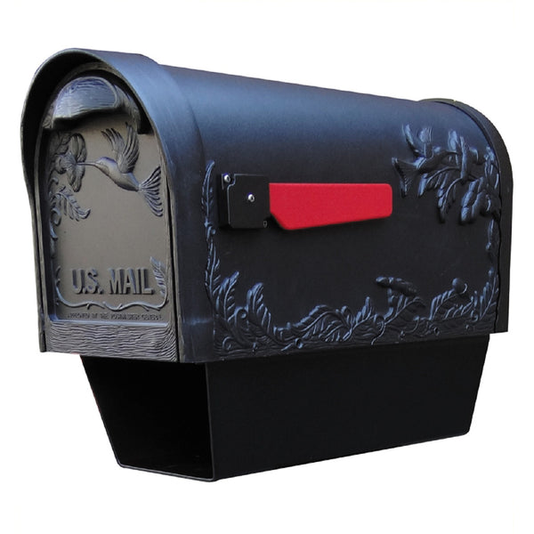 Special Lite Products Hummingbird Curbside Mailbox with Paper Tube