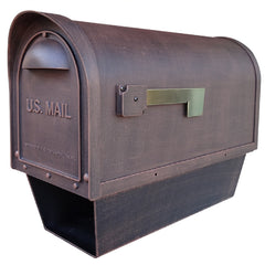 Special Lite Products Classic Curbside Mailbox with Paper Tube
