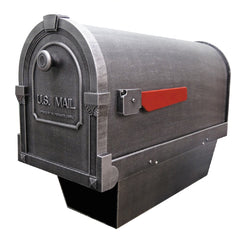 Special Lite Products Savannah Curbside Mailbox With Paper Tube
