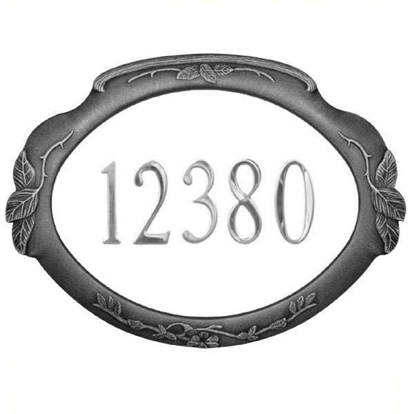 Special Lite Products Floral Address Plaque