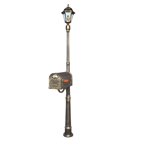 Special Lite Products Ashland Mailbox / Post Light Combination Kit