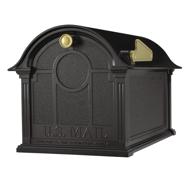 Whitehall Products Balmoral Post Mount Residential Mailbox
