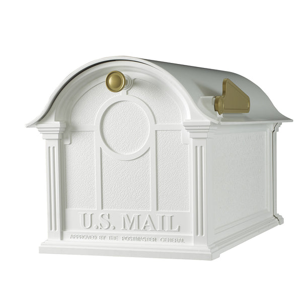 Whitehall Products Balmoral Post Mount Mailbox