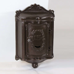 Amco Decorative Colonial Locking Wall Mount Mailbox