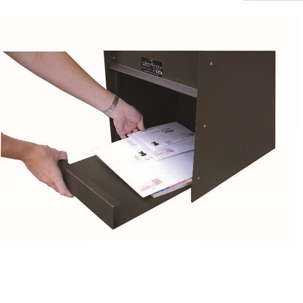 Jayco Industries Sliding Mail Tray with Deflector Plate