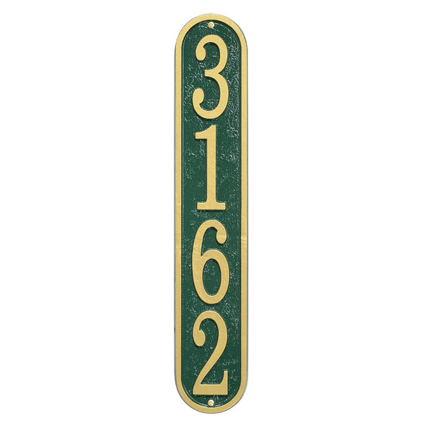 Whitehall Fast & Easy Vertical House Numbers Address Plaque