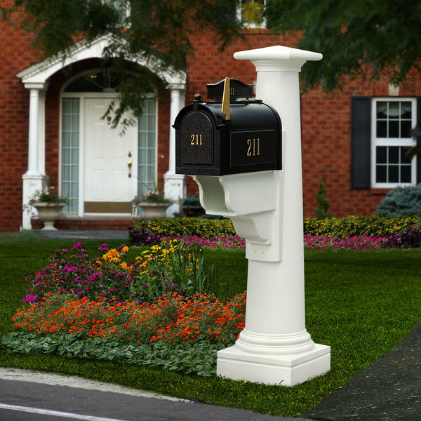 Mayne Statesville Residential Commercial Mailbox Post