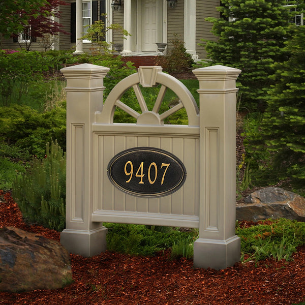 Mayne Winchester Ground Mount Residential Commercial Address Sign