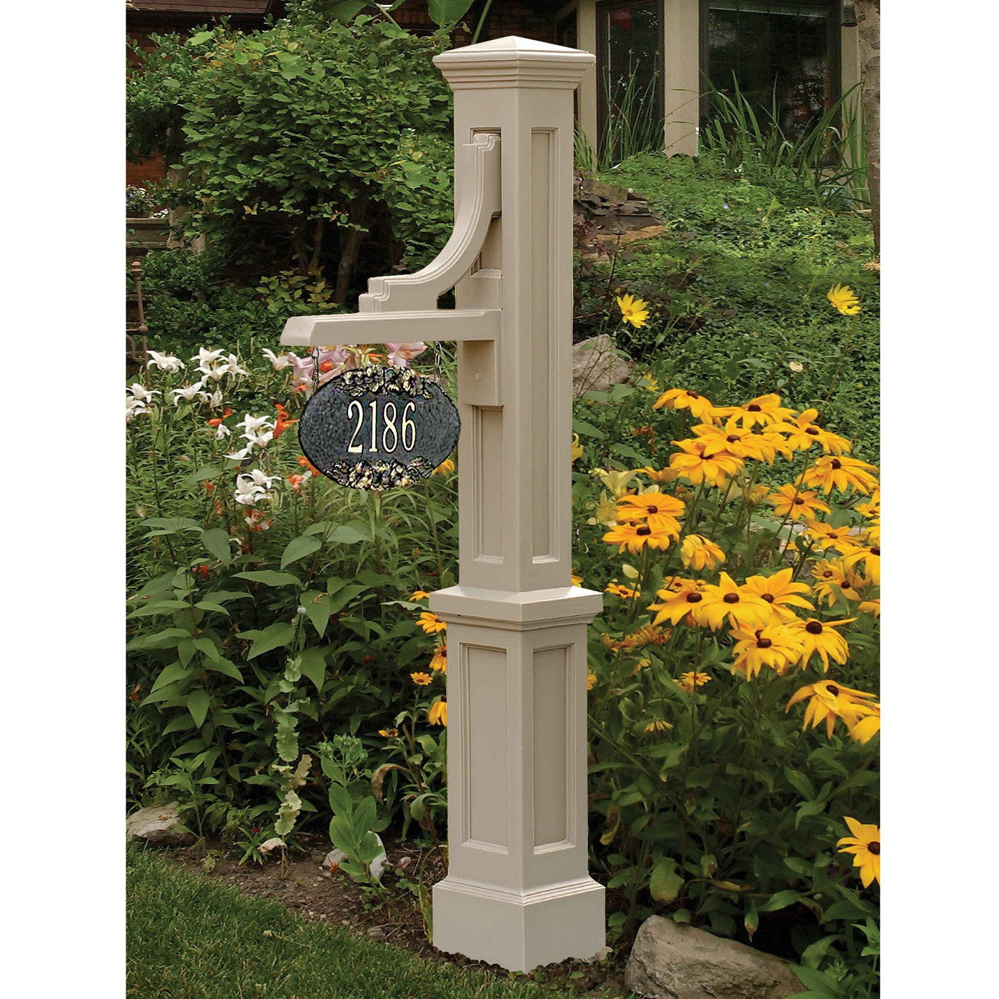 Mayne Woodhaven Residential Commercial Address Sign Post