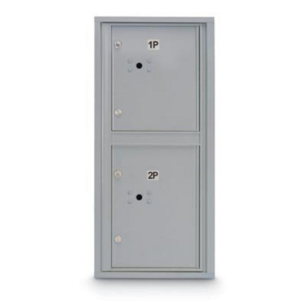 Postal Products Unlimited Standard 4C Mailbox with 2 Parcel Lockers