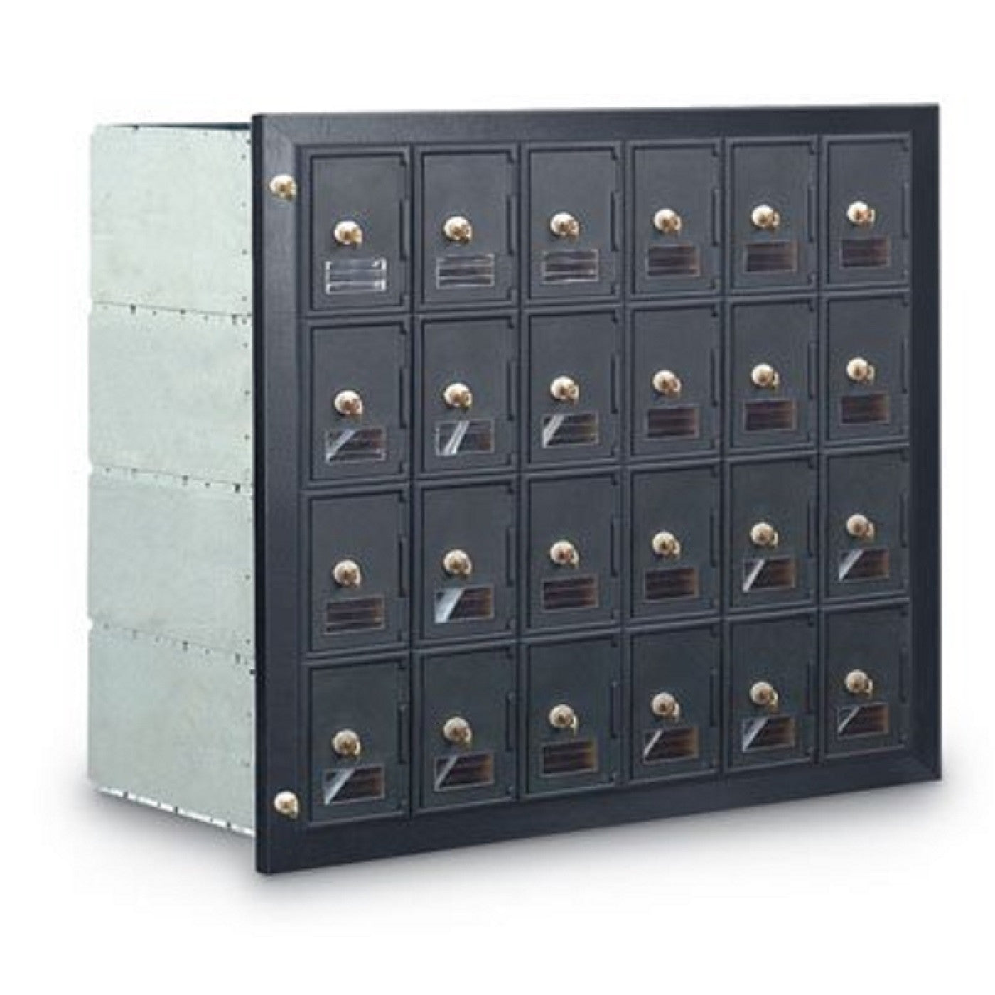 Postal Products Unlimited 24-Door Front Loading Guardian Module Mailbox  sc 1 st  Prime Mailboxes & Postal Products 24-Door Front Loading Guardian Module Mailbox ...