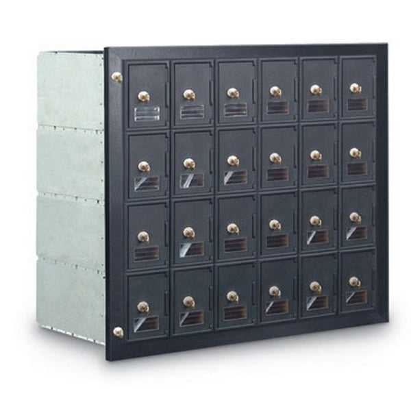 Postal Products Unlimited 24-Door Front Loading Guardian Module Mailbox