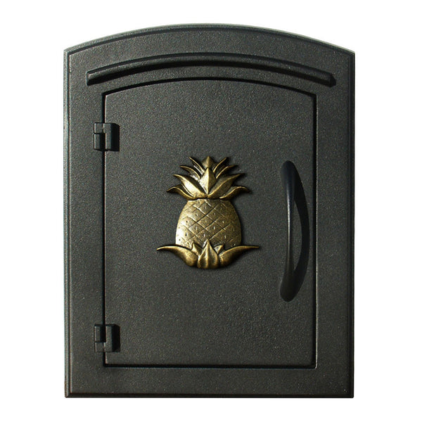 QualArc Manchester Column Mounted Mailbox Pineapple; MAN-1405