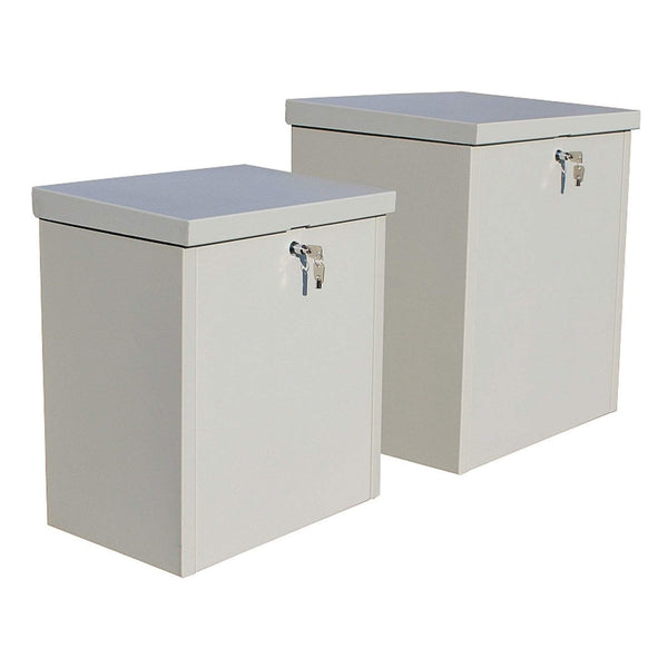QualArc Parcel Chest Secure Locking Delivery Parcel Box