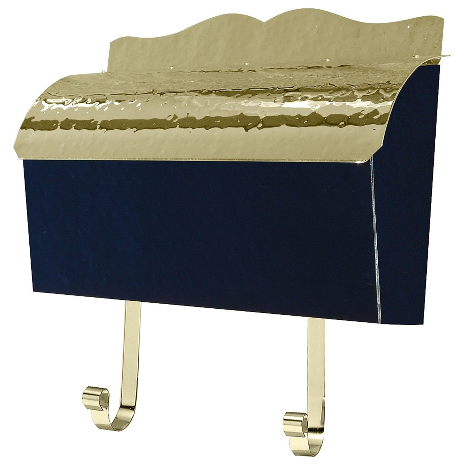Picture of: Qualarc Provincial Mb900 Collection Brass Mailbox Wall Mount Hammer Prime Mailboxes