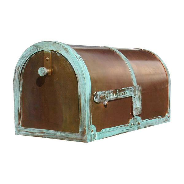 QualArc Provincial Collection Brass Rural Mailboxes
