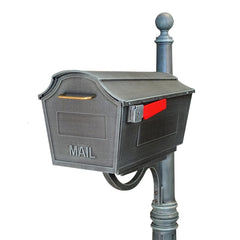Special Lite Town Square Curbside Post Mount Mailbox