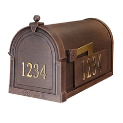 Special Lite Custom Mailbox in Copper