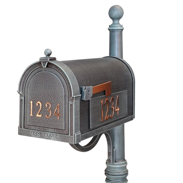 Special Lite Custom Mailbox in Verde Green