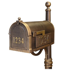 Special Lite Custom Mailbox in Hand Rubbed Bronze