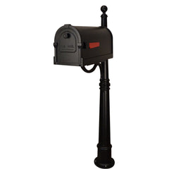 Special Lite Savannah Curbside Mailbox with Ashland Mailbox Post; SCS-1014_SPK-600