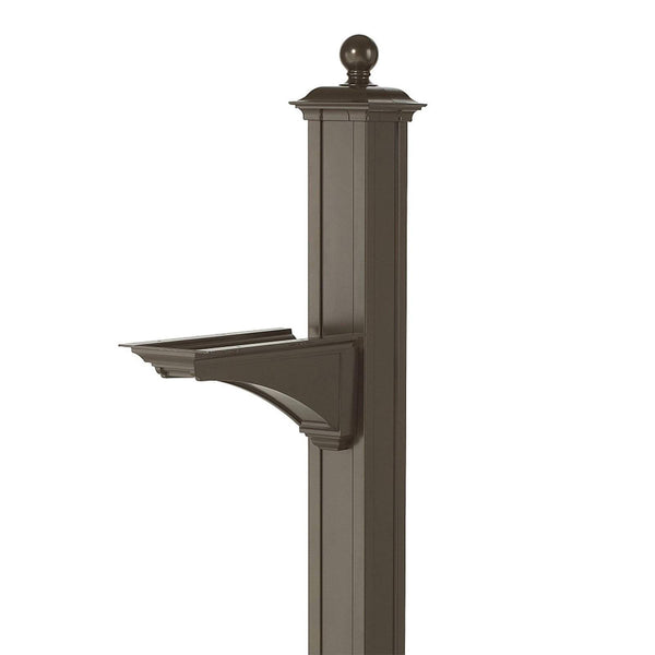 Whitehall Balmoral Post and Bracket with Ball Finial