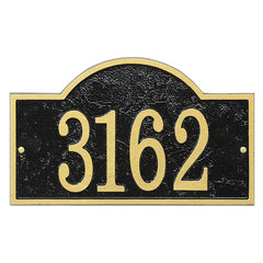 Whitehall Fast & Easy Arch House Numbers Address Plaque