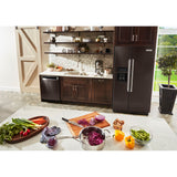 KitchenAid Side x Side Fridge - Black Stainless