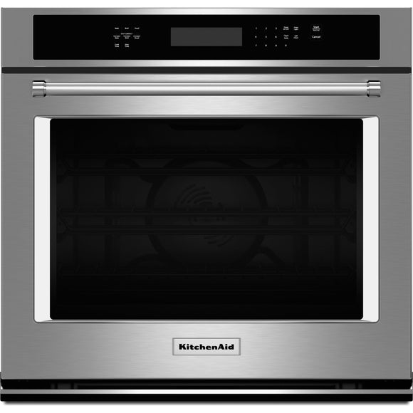 KitchenAid 30 True Convection Wall Oven - Stainless
