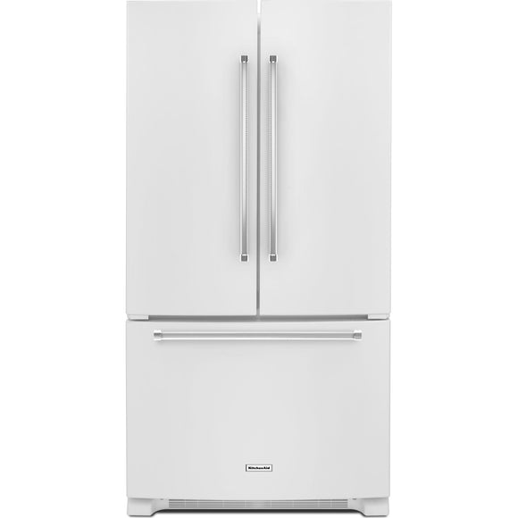 KitchenAid French Door Fridge - White