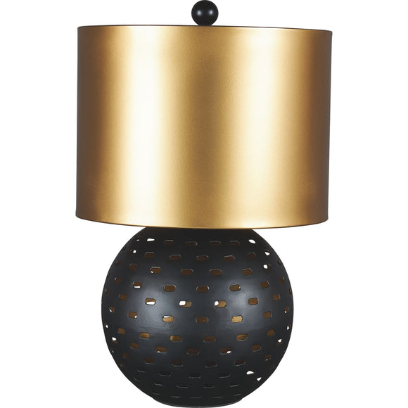 Mareike Table Lamp - Black/Gold