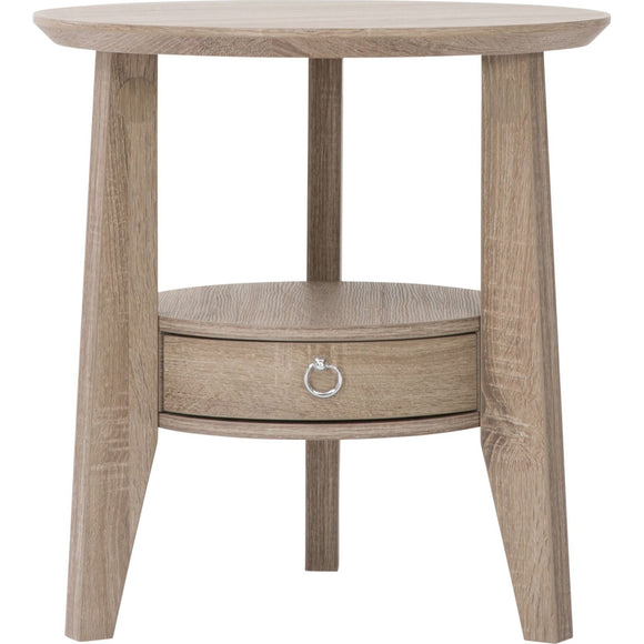 Dark Taupe Accent Table - Dark Taupe