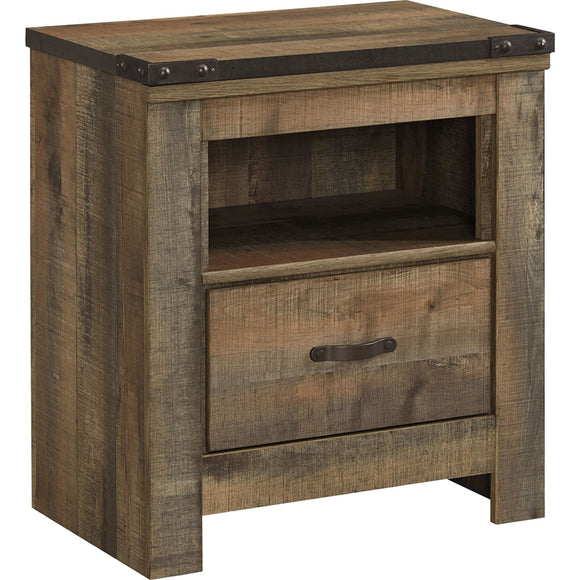 Trinell  Nightstand - Rustic