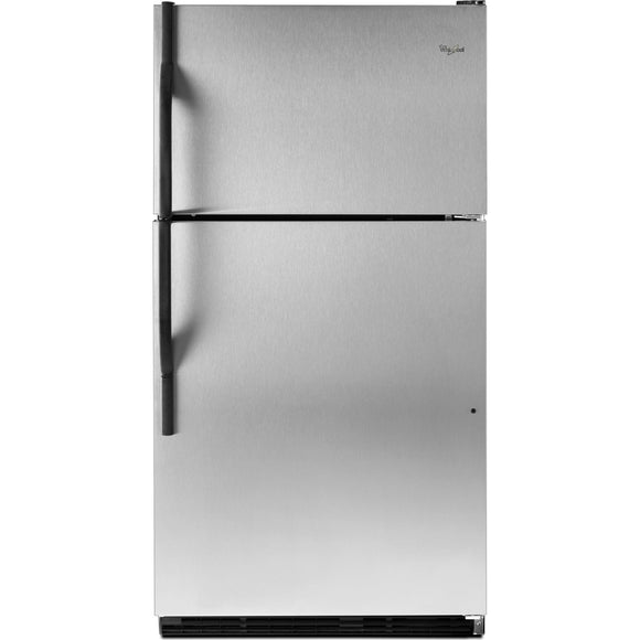 Whirlpool Top Mount Fridge - Stainless