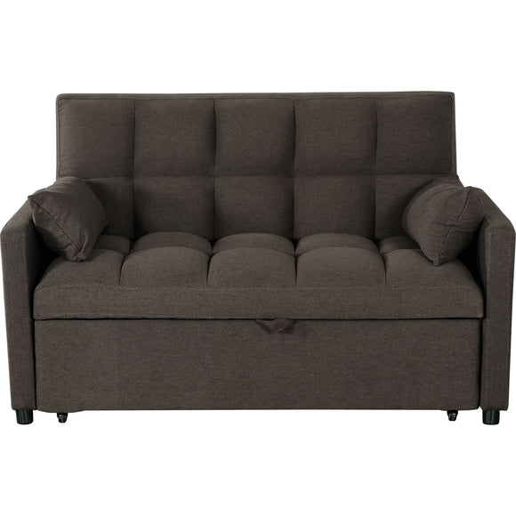 VIOLA SOFA BED Media Sleeper - Brown