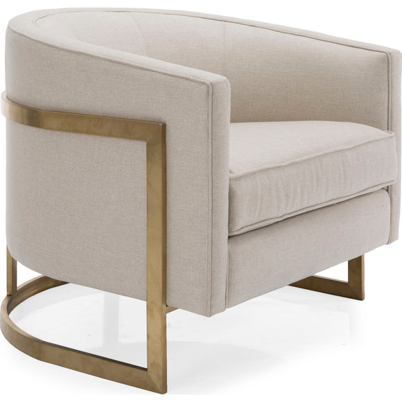 Dezi Chair - Ivory