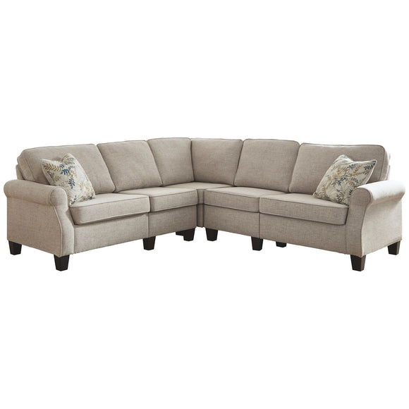 Alessio 5 Piece Sectional - Beige