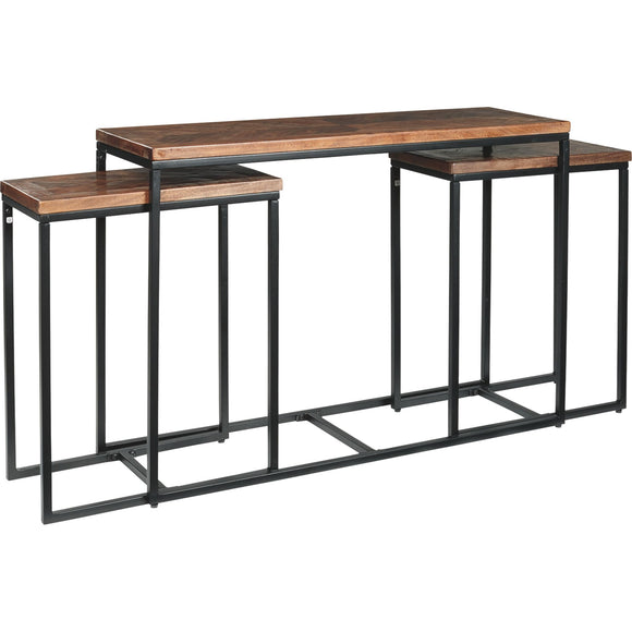 Jadenley  Accent Table - Brown/Black